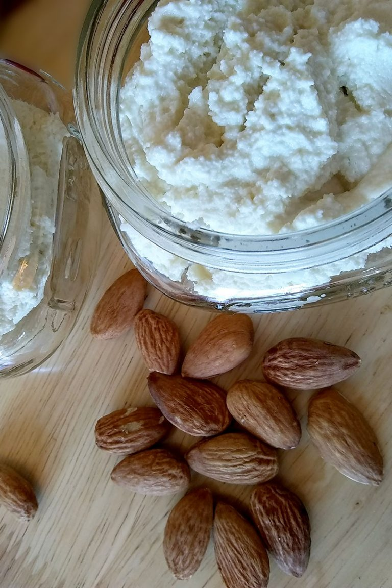Best Raw Almond Feta