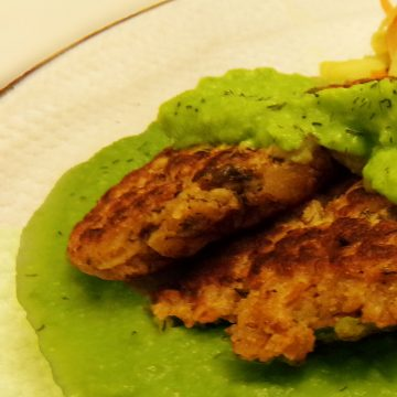 Vibrant Green Pea Puree